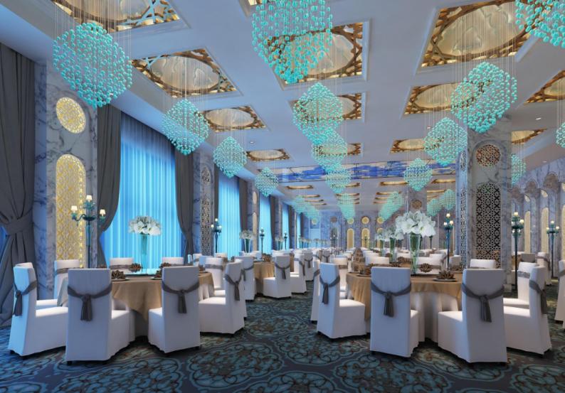 婚礼堂发布:4800平、5大主题厅,青岛印象酒店全面升级!  第9张