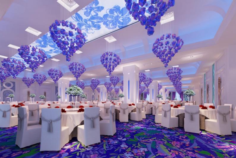 婚礼堂发布:4800平、5大主题厅,青岛印象酒店全面升级!  第13张