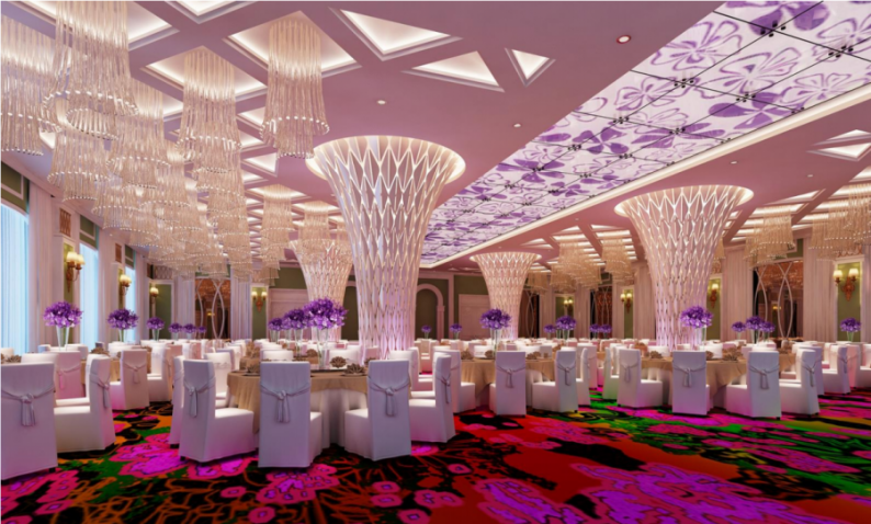 婚礼堂发布:4800平、5大主题厅,青岛印象酒店全面升级!  第4张