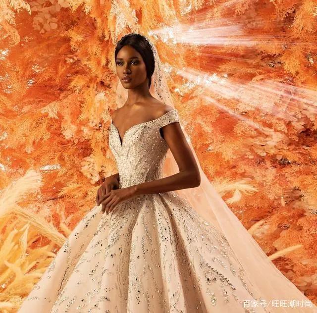 2020全新系列:迪拜土豪最爱的高级定制婚纱  第1张