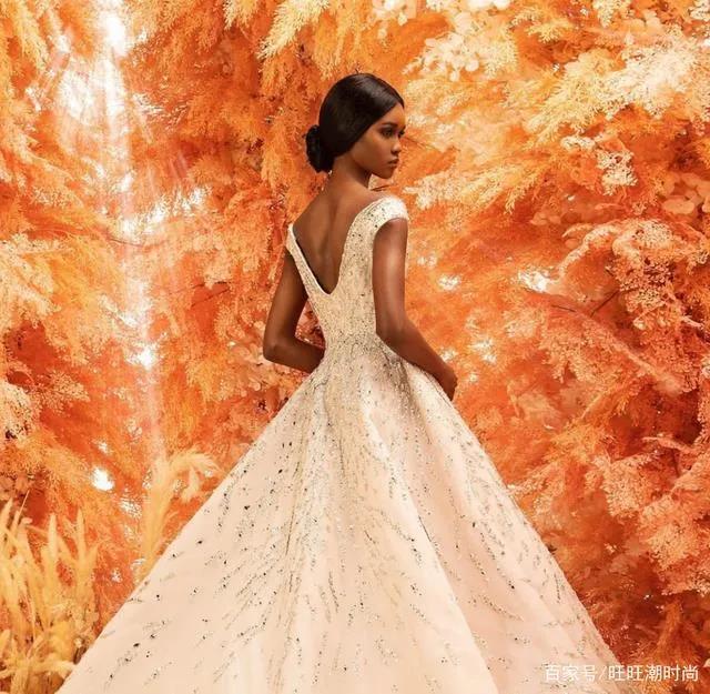 2020全新系列:迪拜土豪最爱的高级定制婚纱  第13张