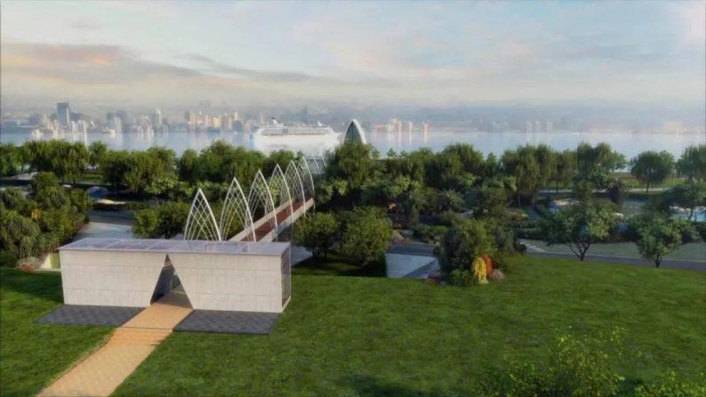 婚礼堂发布:徐丹设计,投资6千万!中国首个临江亲水仪式堂  第3张