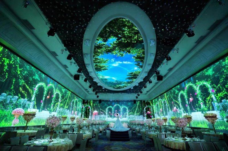 婚礼堂发布:8大主题厅,四线城市打造宴会地标  第2张