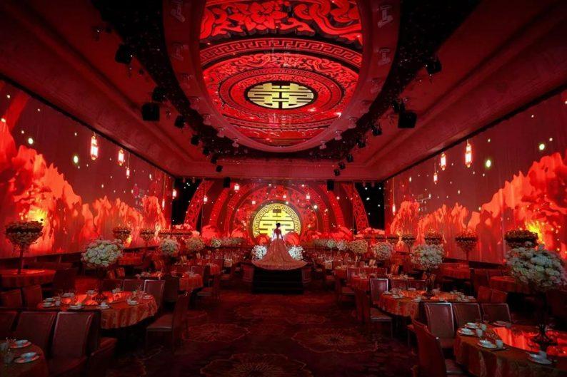 婚礼堂发布:8大主题厅,四线城市打造宴会地标  第3张