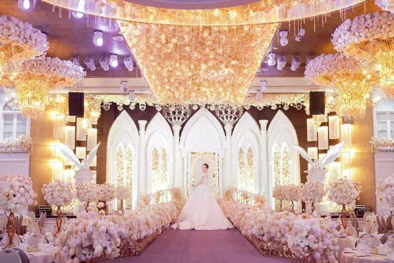 婚礼堂发布:8大主题厅,四线城市打造宴会地标  第10张