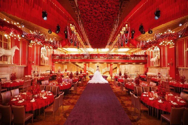 婚礼堂发布:8大主题厅,四线城市打造宴会地标  第12张