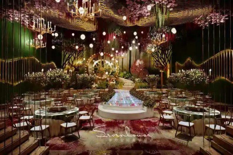婚礼堂发布:徐丹又一力作!喜宴楼连开两店,打造百万婚礼殿堂  第12张