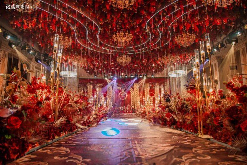 婚礼堂发布:徐丹又一力作!喜宴楼连开两店,打造百万婚礼殿堂  第15张
