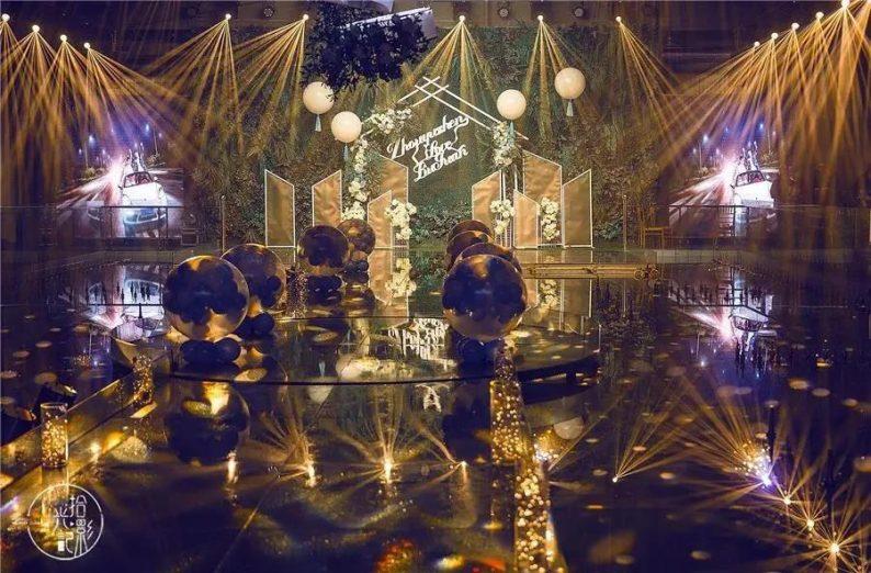 婚礼堂发布:徐丹又一力作!喜宴楼连开两店,打造百万婚礼殿堂  第22张