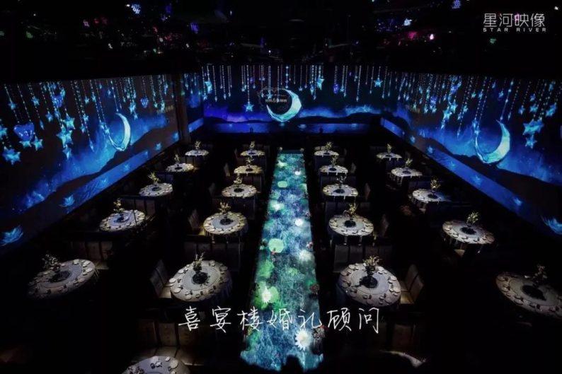 婚礼堂发布:徐丹又一力作!喜宴楼连开两店,打造百万婚礼殿堂  第27张
