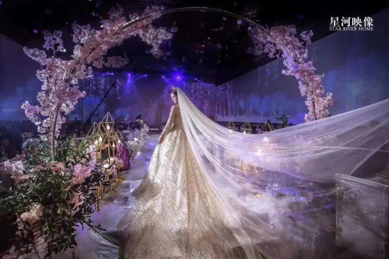 婚礼堂发布:徐丹又一力作!喜宴楼连开两店,打造百万婚礼殿堂  第28张