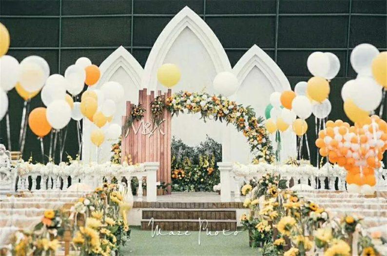 婚礼堂发布:徐丹又一力作!喜宴楼连开两店,打造百万婚礼殿堂  第31张