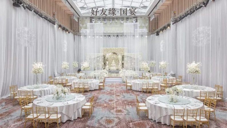 婚礼堂发布:两度携手蔡上!广西地标性餐饮宴会酒店  第18张