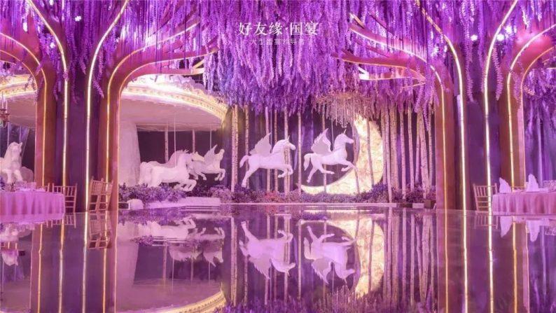 婚礼堂发布:两度携手蔡上!广西地标性餐饮宴会酒店  第21张