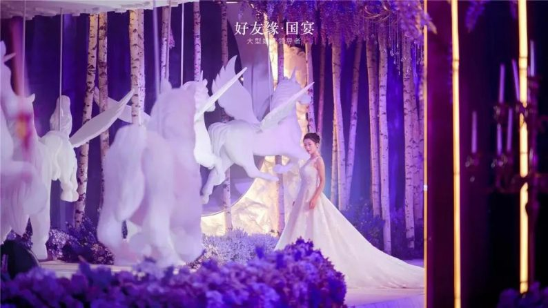 婚礼堂发布:两度携手蔡上!广西地标性餐饮宴会酒店  第22张