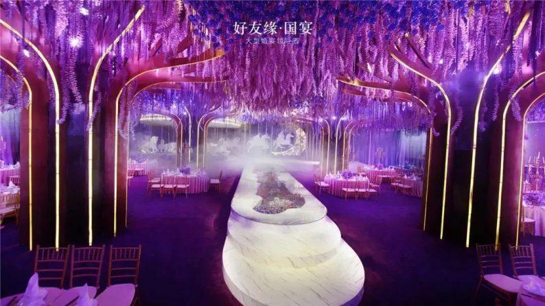 婚礼堂发布:两度携手蔡上!广西地标性餐饮宴会酒店  第23张