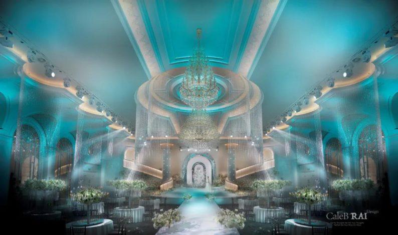 婚礼堂发布:曼格纳X赖梓愈,宝山宾馆打造美学婚礼艺术中心  第3张