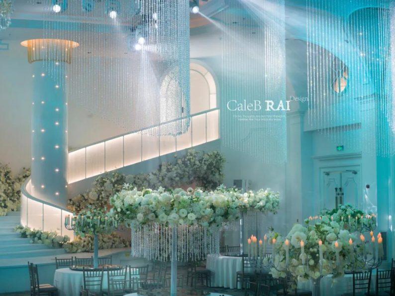 婚礼堂发布:曼格纳X赖梓愈,宝山宾馆打造美学婚礼艺术中心  第5张