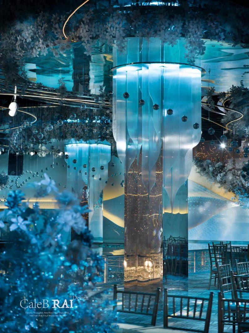 婚礼堂发布:曼格纳X赖梓愈,宝山宾馆打造美学婚礼艺术中心  第11张