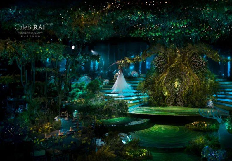 婚礼堂发布:曼格纳X赖梓愈,宝山宾馆打造美学婚礼艺术中心  第13张