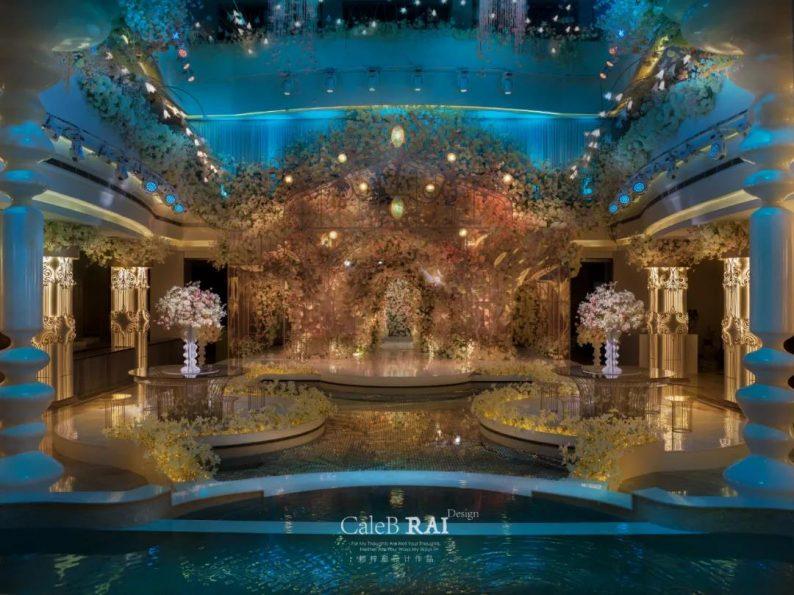 婚礼堂发布:曼格纳X赖梓愈,宝山宾馆打造美学婚礼艺术中心  第16张