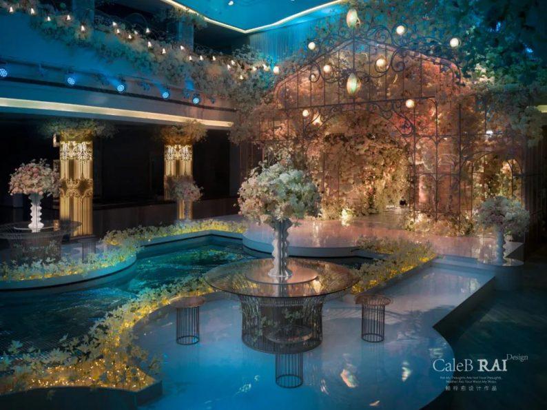 婚礼堂发布:曼格纳X赖梓愈,宝山宾馆打造美学婚礼艺术中心  第18张
