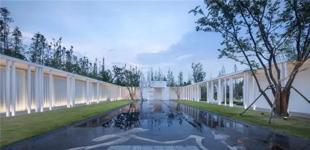 占地6000平米!白色园林建筑,举办婚礼的IP圣地  第5张