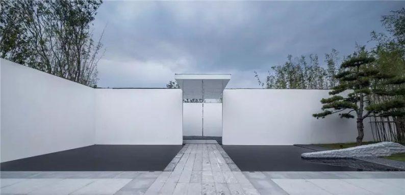 占地6000平米!白色园林建筑,举办婚礼的IP圣地  第12张