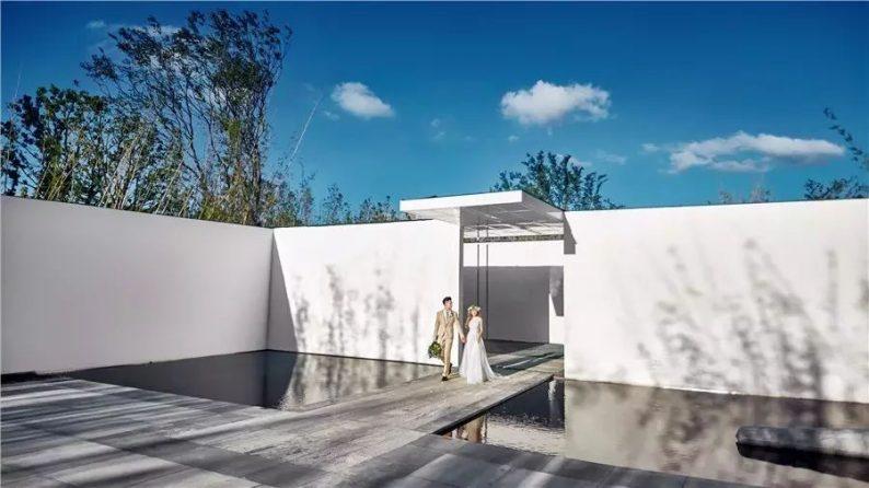 占地6000平米!白色园林建筑,举办婚礼的IP圣地  第13张