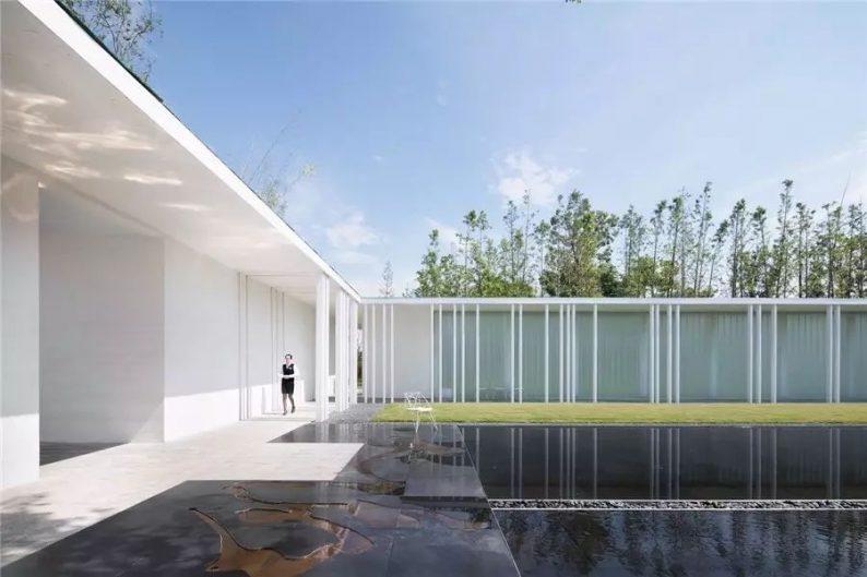 占地6000平米!白色园林建筑,举办婚礼的IP圣地  第16张