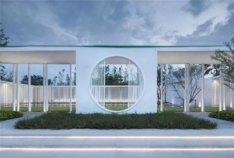 占地6000平米!白色园林建筑,举办婚礼的IP圣地  第22张
