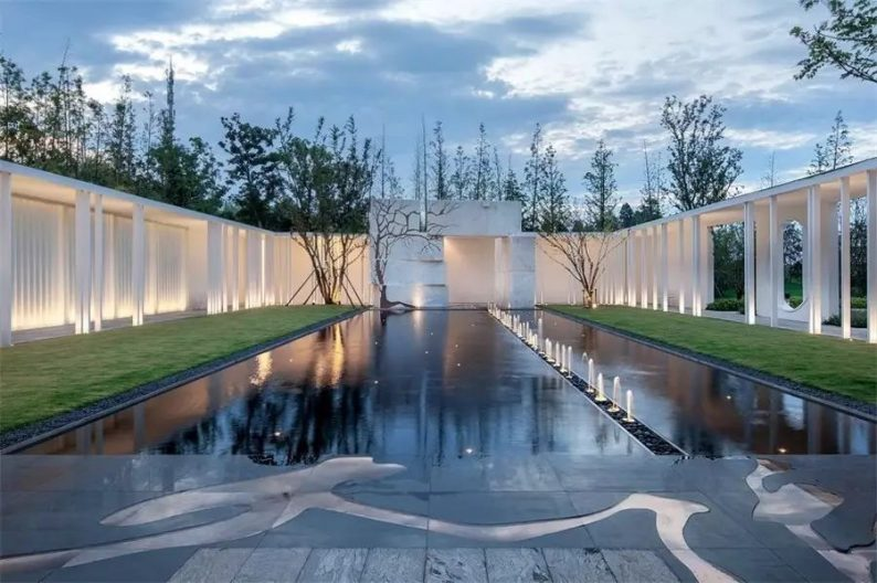 占地6000平米!白色园林建筑,举办婚礼的IP圣地  第24张