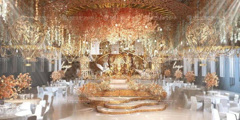 婚礼堂发布:3大主题宴会厅!七七喜堂打造全新婚礼概念基地  第3张