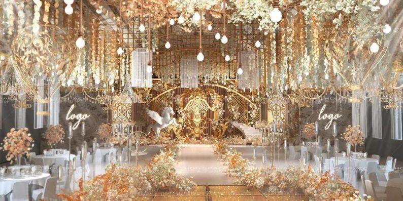 婚礼堂发布:3大主题宴会厅!七七喜堂打造全新婚礼概念基地  第4张