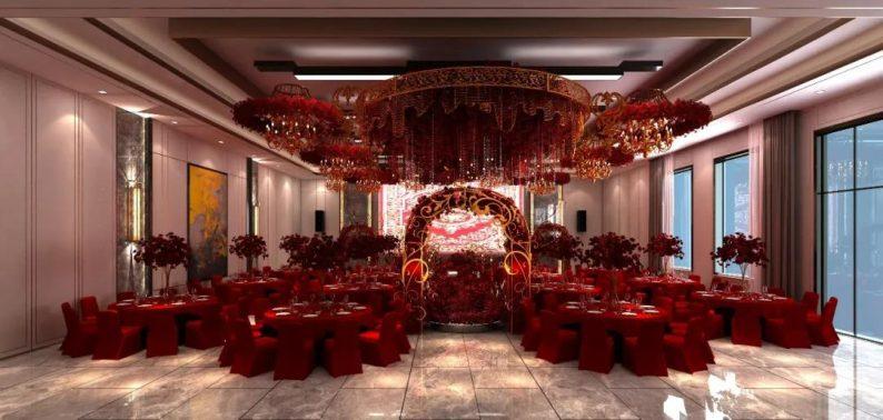 婚礼堂发布:3大主题宴会厅!七七喜堂打造全新婚礼概念基地  第10张