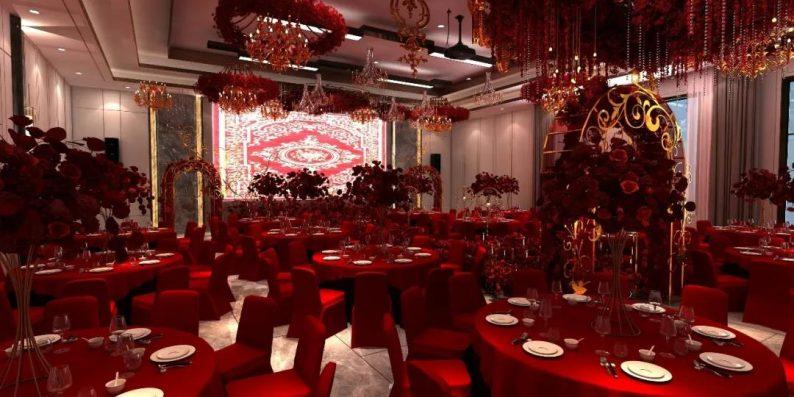 婚礼堂发布:3大主题宴会厅!七七喜堂打造全新婚礼概念基地  第11张