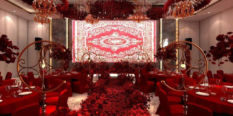 婚礼堂发布:3大主题宴会厅!七七喜堂打造全新婚礼概念基地  第12张