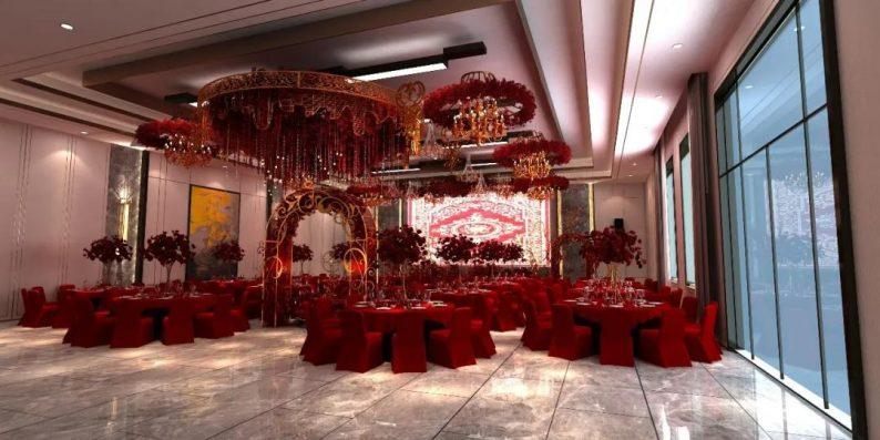 婚礼堂发布:3大主题宴会厅!七七喜堂打造全新婚礼概念基地  第13张
