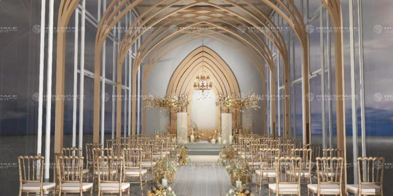 婚礼堂发布:3大主题宴会厅!七七喜堂打造全新婚礼概念基地  第14张