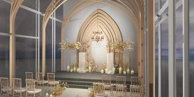 婚礼堂发布:3大主题宴会厅!七七喜堂打造全新婚礼概念基地  第15张