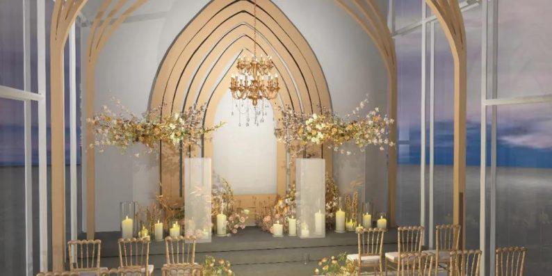 婚礼堂发布:3大主题宴会厅!七七喜堂打造全新婚礼概念基地  第17张