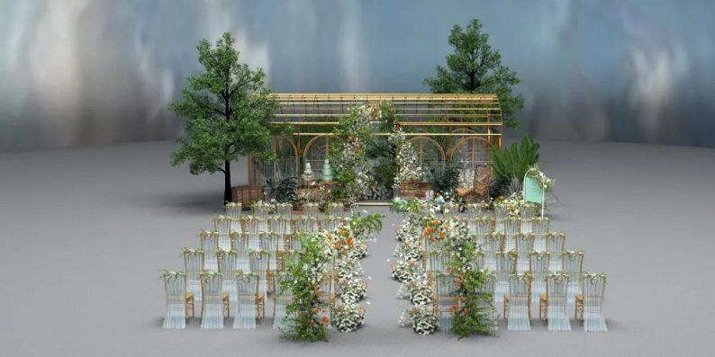 婚礼堂发布:3大主题宴会厅!七七喜堂打造全新婚礼概念基地  第18张