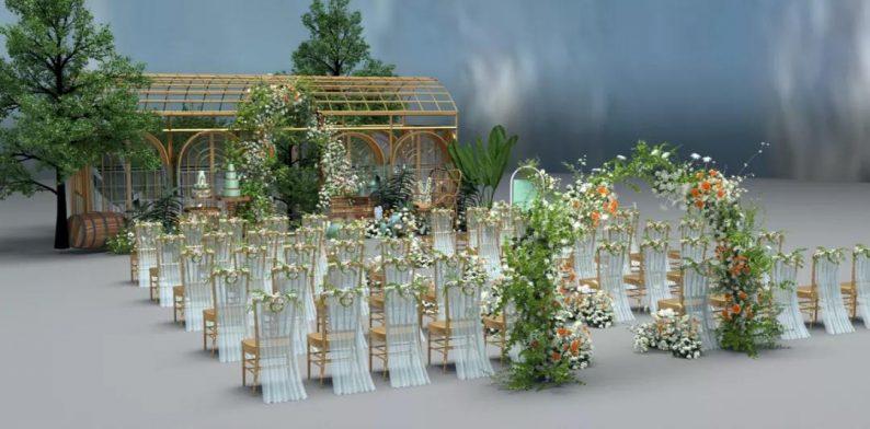 婚礼堂发布:3大主题宴会厅!七七喜堂打造全新婚礼概念基地  第19张