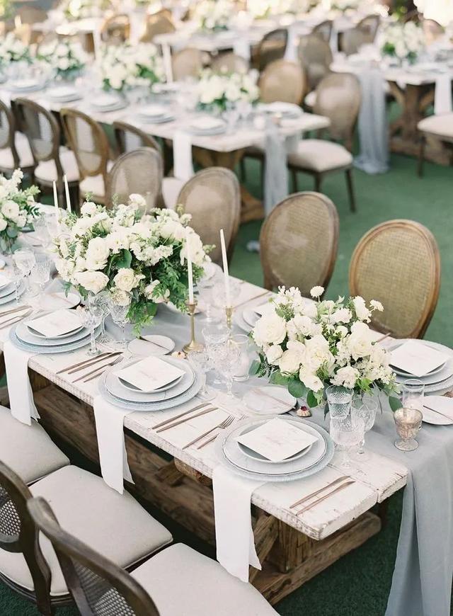满满的仪式感!婚宴餐桌设计三部曲  第4张