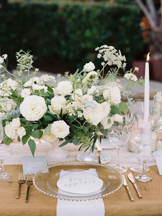 满满的仪式感!婚宴餐桌设计三部曲  第5张