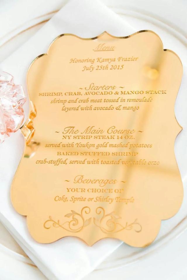 满满的仪式感!婚宴餐桌设计三部曲  第10张