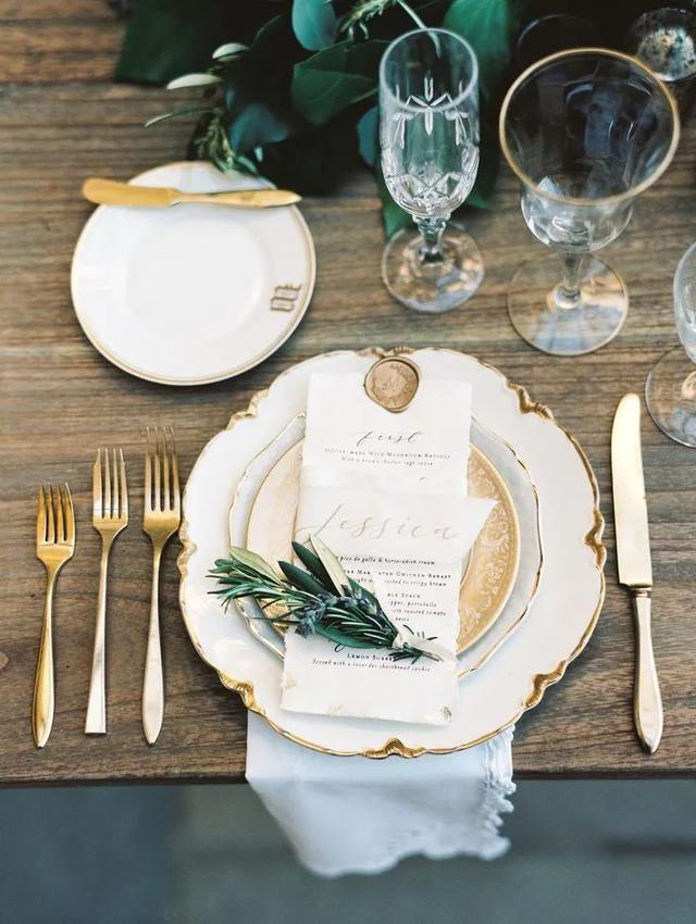 满满的仪式感!婚宴餐桌设计三部曲  第13张