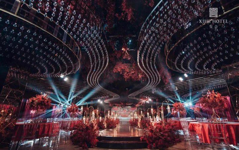 婚礼堂发布:假日酒店转型,三大艺术级主题宴会厅来了!  第4张