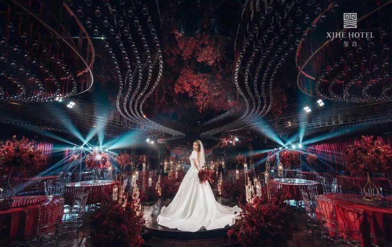 婚礼堂发布:假日酒店转型,三大艺术级主题宴会厅来了!  第5张