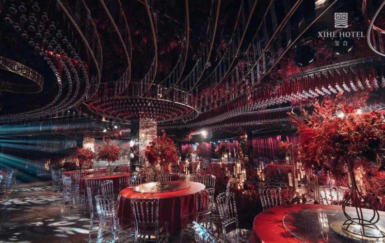 婚礼堂发布:假日酒店转型,三大艺术级主题宴会厅来了!  第6张
